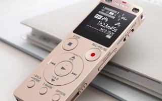 Краткий обзор Sony ICD-UX560 — Ноябрь 2019