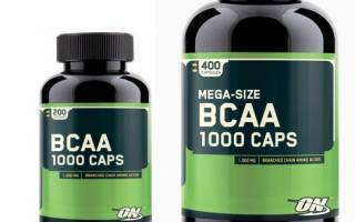 Краткий обзор Optimum Nutrition BCAA 1000 — Январь 2020