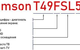Краткий обзор Thomson T32RTE1250 — Декабрь 2020