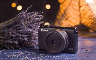 Краткий обзор Canon EOS M100 Kit — Апрель 2020