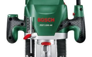 Краткий обзор BOSCH POF 1200 AE — Октябрь 2020