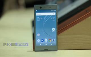 Краткий обзор Sony Xperia XZ1 Compact — Ноябрь 2017