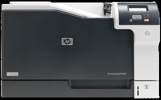Краткий обзор HP Color LaserJet Professional CP5225 (CE710A) — Декабрь 2016
