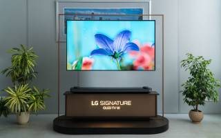 Краткий обзор LG OLED65W9P — Август 2020