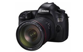Краткий обзор Canon EOS 5DSR Body — Сентябрь 2017