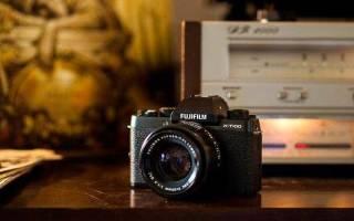Краткий обзор Fujifilm X-T100 Kit — Июль 2020