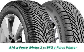 Краткий обзор BFGoodrich g-Force Winter 2 — Ноябрь 2020