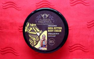 Обзор крема для тела Organic Shea Butter Body Cream от Planeta Organica