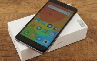 Краткий обзор Xiaomi Redmi Note 4X 32GB — Октябрь 2020