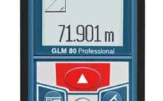 Краткий обзор BOSCH GLM 80 + R 60 Professional — Май 2016