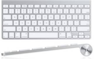 Краткий обзор Apple Magic Keyboard White Bluetooth — Июль 2017