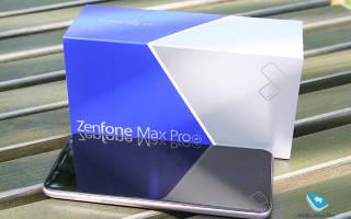 Краткий обзор ASUS ZenFone Max Pro M1 ZB602KL — Март 2020