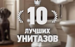 Рейтинг 10 лучших унитазов популярных производителей — ТОП 10