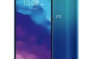 Краткий обзор ZTE Blade A3 (2020) — Ноябрь 2020