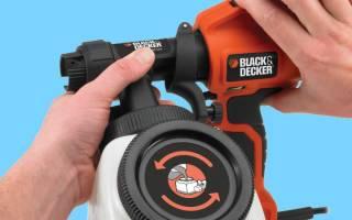 Краткий обзор BLACK+DECKER HVLP400 — Ноябрь 2019