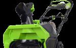 Краткий обзор Greenworks GD80CS50 0 — Апрель 2017