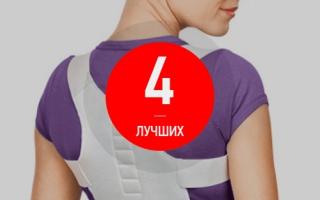 Рейтинг лучших корректоров осанки — ТОП 4
