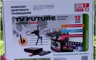 Краткий обзор REMO TV Future Outdoor DVB-T2 — Май 2015
