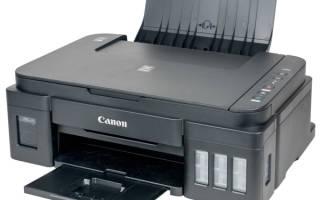Краткий обзор Canon PIXMA G3411 — Май 2020