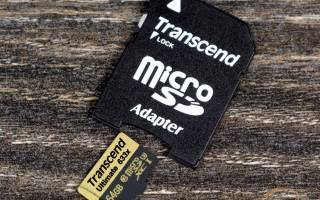 Краткий обзор Transcend microSDHC Ultimate (TS*GUSDU3) — Март 2019