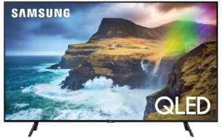 Краткий обзор Samsung QE55Q77RAU — Июль 2020