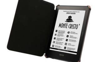 Краткий обзор ONYX BOOX Monte Cristo 4 — Январь 2020