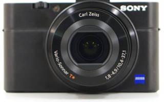 Краткий обзор Sony Cyber-shot DSC-RX100 — Июль 2020