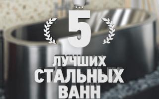 Рейтинг 5 лучших стальных ванн — ТОП 5