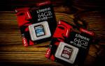 Краткий обзор Kingston SDCR/64GB — Сентябрь 2020