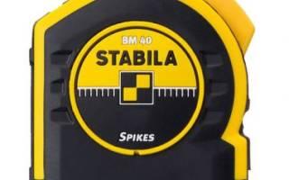 Краткий обзор STABILA BM40 5 м х 25мм 17744 — Ноябрь 2015