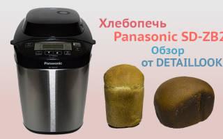 Краткий обзор Panasonic SD-ZB2512 — Декабрь 2020