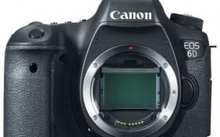 Краткий обзор Canon EOS 6D Body — Сентябрь 2017