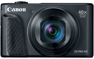 Краткий обзор Canon PowerShot SX740 HS — Апрель 2020