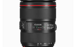 Краткий обзор Canon EF 24-105mm f/4L IS II USM — Октябрь 2017