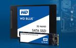 Краткий обзор Western Digital WD BLUE 3D NAND SATA SSD 500 GB (WDS500G2B0A) — Январь 2020