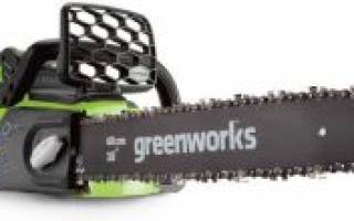 Краткий обзор Greenworks G40CS30 0 — Апрель 2017