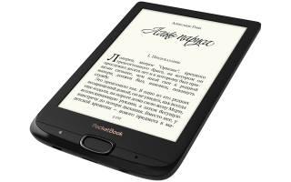 Краткий обзор PocketBook 616 — Январь 2020