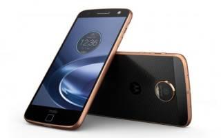 Краткий обзор Motorola Moto Z — Март 2017