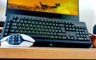 Краткий обзор Razer BlackWidow Chroma Black USB — Сентябрь 2015