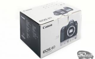 Краткий обзор Canon EOS 6D Kit — Декабрь 2020