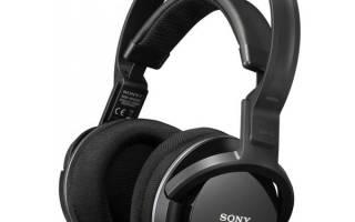 Краткий обзор Sony MDR-RF855RK — Август 2020