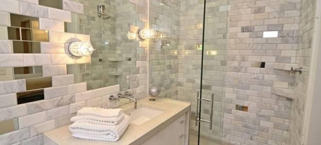 Чем лучше сделать отделку стен в ванной? Может что-то кроме плитки?