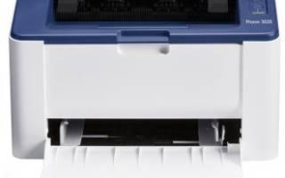 Краткий обзор Xerox Phaser 3020BI — Декабрь 2016