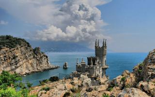 7 лучших мест для отдыха в Крыму