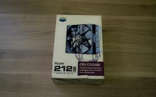 Краткий обзор Cooler Master Hyper 212 EVO — Август 2015