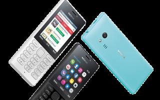 Краткий обзор Nokia 216 Dual Sim — Август 2020