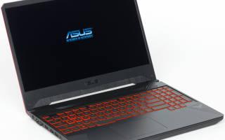Краткий обзор ASUS TUF Gaming FX505DY-BQ024 — Июнь 2020