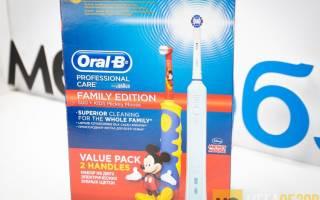 Краткий обзор Oral-B Kids Mickey Mouse — Июнь 2017